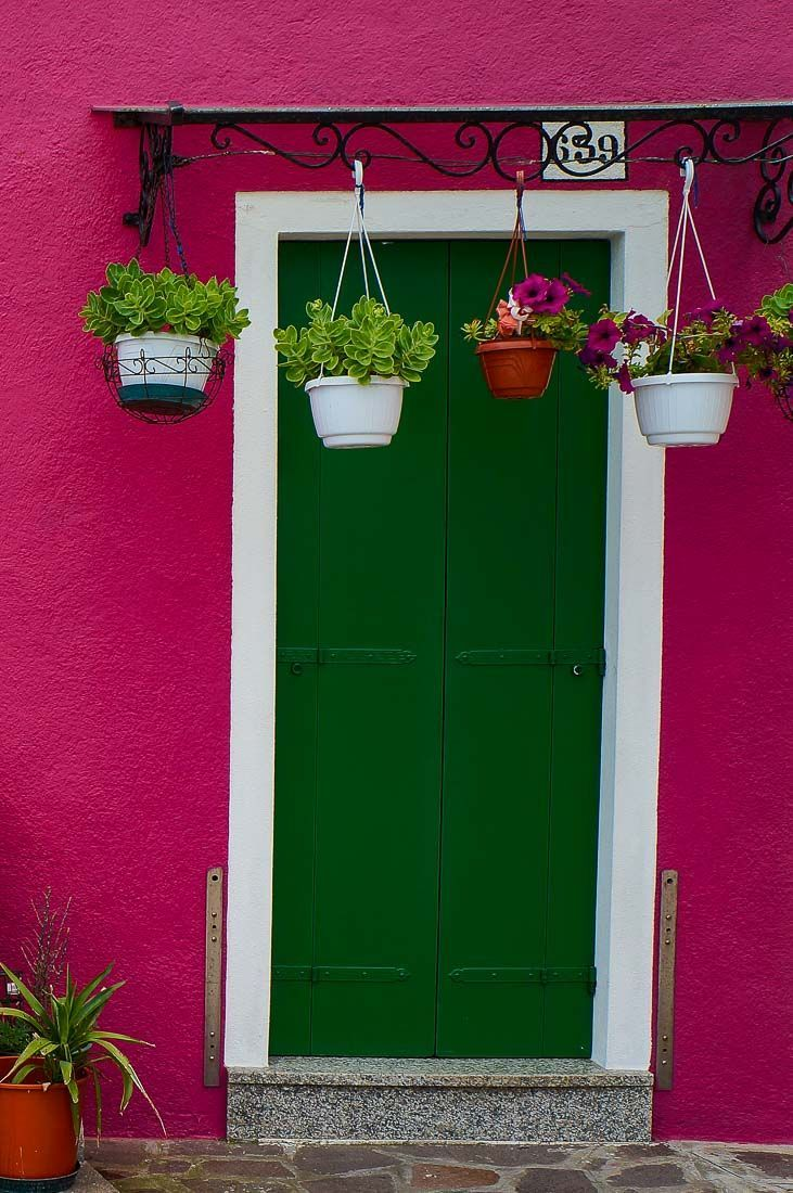 In photos the vibrant colours of murano u burano pink houses
