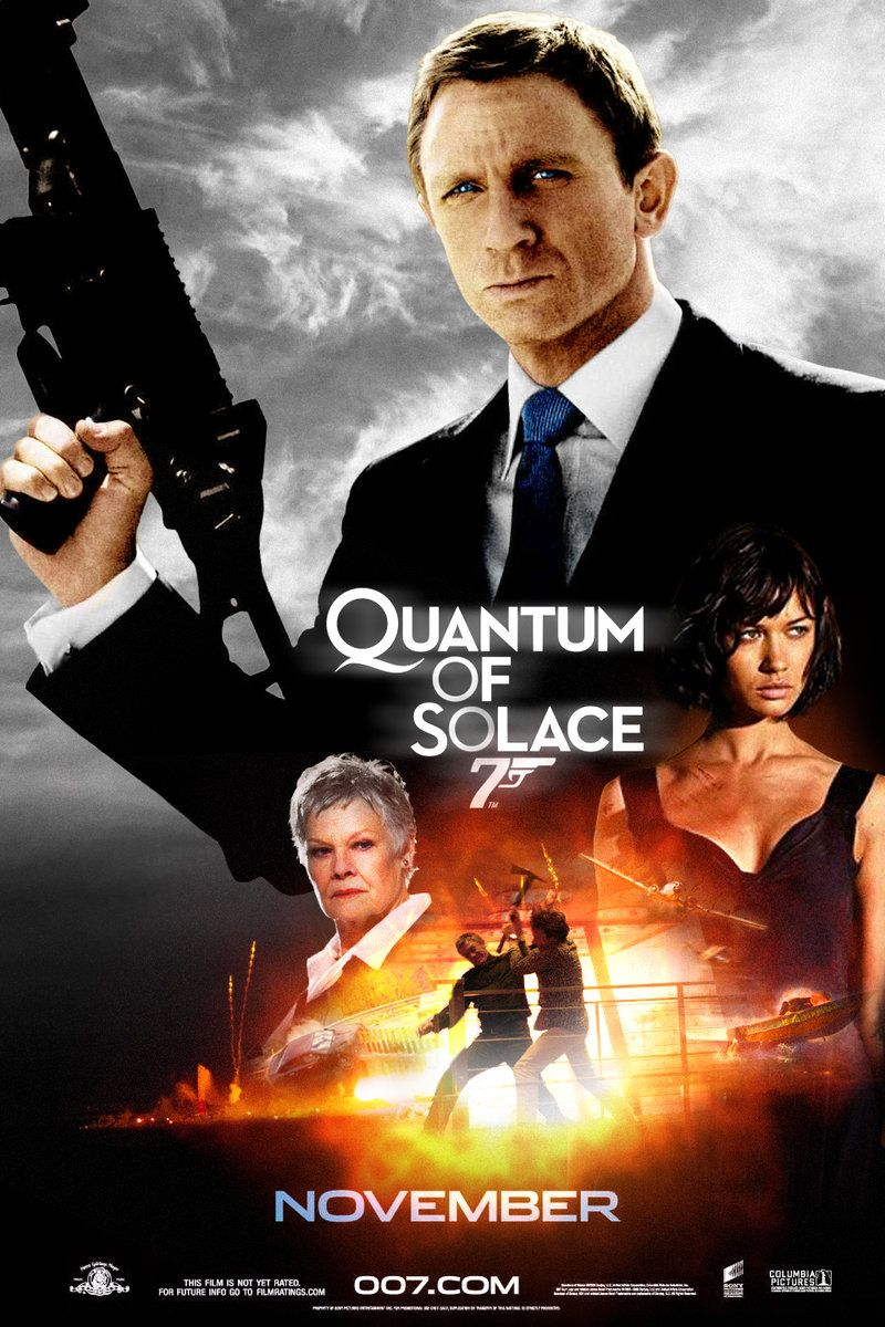 Watch Quantum Of Solace Online James Bond Movie Posters James