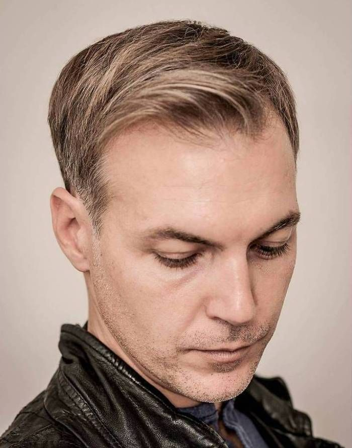 50 Classy Haircuts And Hairstyles For Balding Men Pinterest