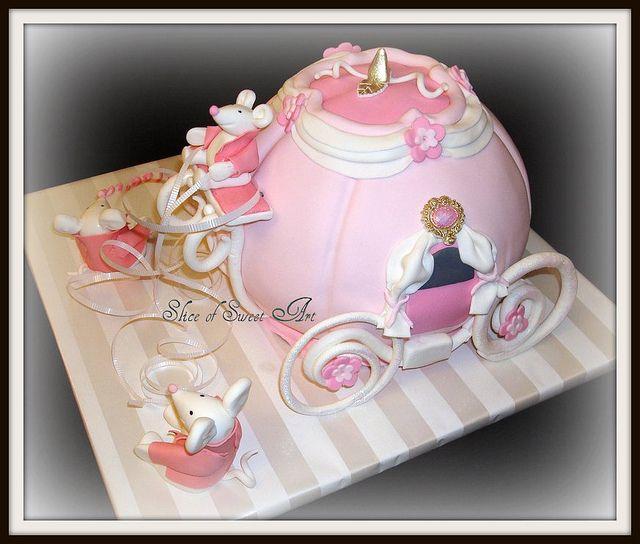 Cinderella Carriage Birthday Cake Cinderella carriage Birthday