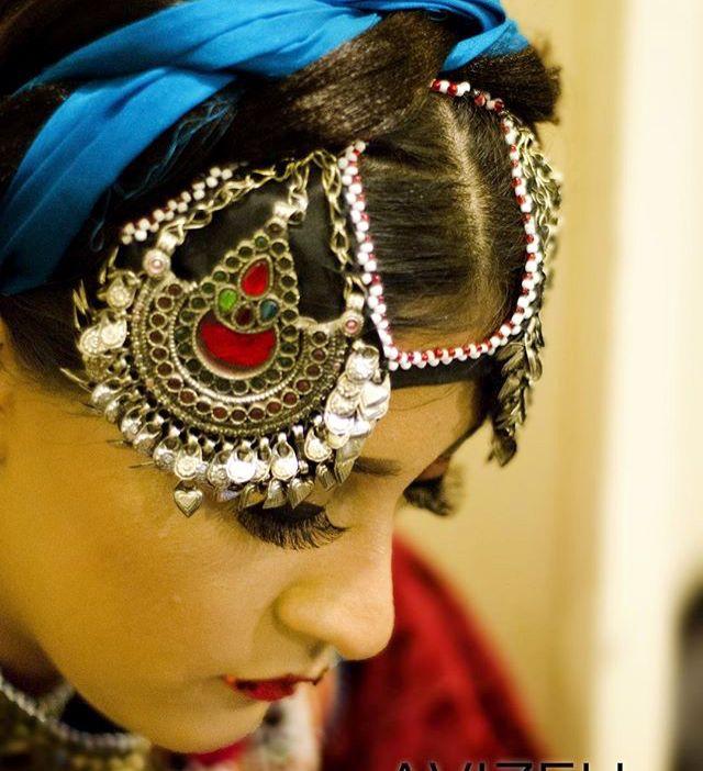 Afghan Headpiece Jewelry Mateka Afghan Fashion Afghani