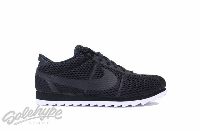 9d1bd59373bdd NIKE WOMENS CORTEZ ULTRA BR BLACK WHITE BREATHE 833801 001