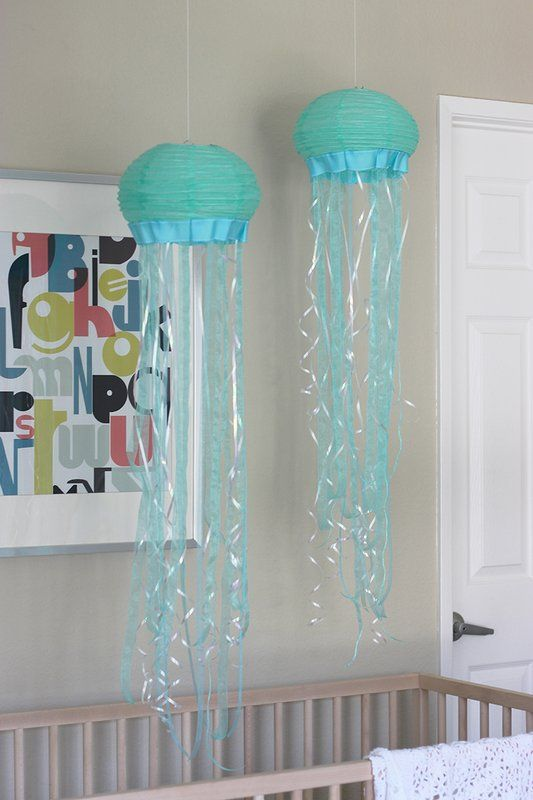 Diy Paper Lantern Jellyfish In 2019 Purple Lavender