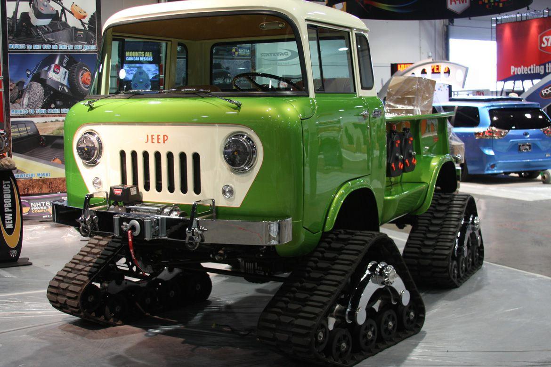 SEMA 2014 Daystar Products Jeep FC 170 Truck With Hemi