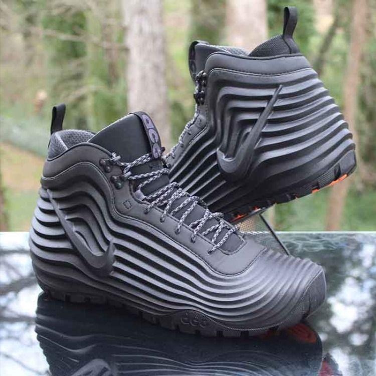 Nike ACG Lunardome 1 Sneakerboot Black in 2020 | Nike acg ...