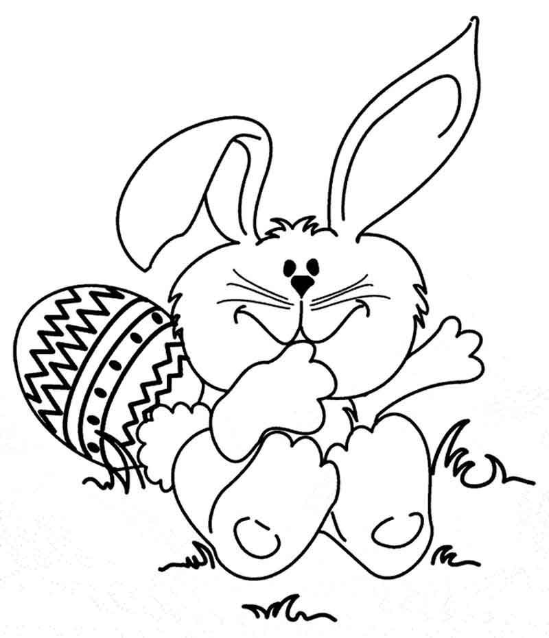Free Bunny Coloring Page Printables From Bunny Coloring Pages