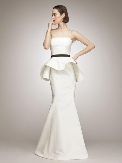 Lovely wedding dress | Christian Wedding | Pinterest | Peplum ...