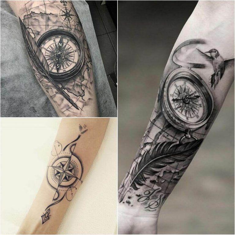 Compass Tattoo Designs Popular Ideas For Compass Tattoos With Meaning Compass Rose Tattoo Tattoos With Meaning Compass Tattoo Design