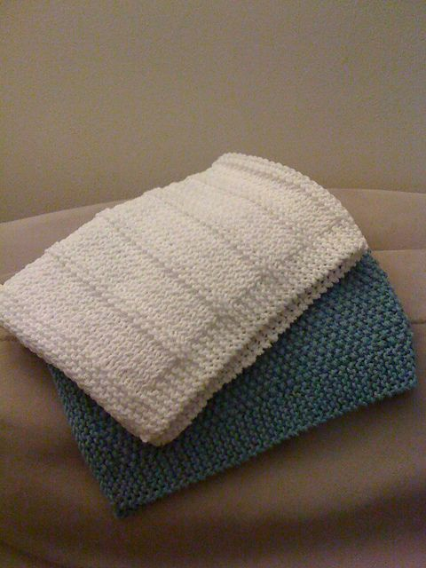 Ravelry Baby Burp Cloths Pattern By Phyllis Long Knitting For