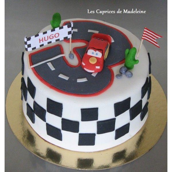 Gut bekannt le gâteau Cars et le circuit de voitures | Les Caprices de  MK43