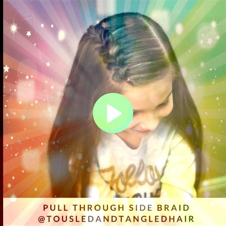 Through Side Braid Pull By means of Facet Braid Hair tutorial Hair tutorial Pull Through Side Braid Pull By means of Facet Braid Hair tutorial Hair tutorial Superb baby g...