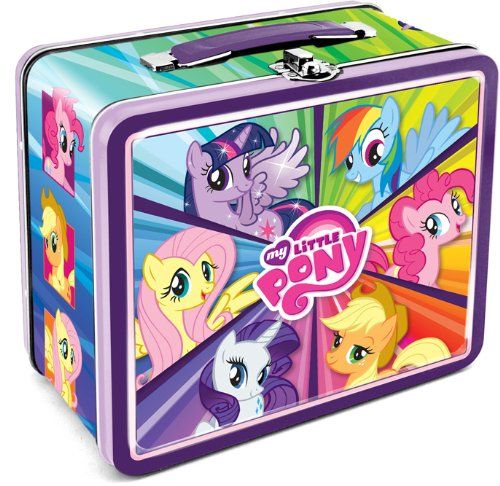 My Little Pony Tin Lunch Box With Images My Little Pony