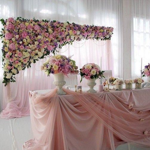 21 Mesa principal para boda