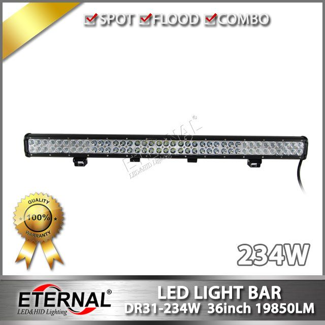 Free Shipping Buy Best Wholesale 16pcs 234w Light Bar 4x4 Off Road Atv Utv Suv 4wd Racing Vehicles Roof Bumper Driving Bar Lighting Car Lights Led Lights