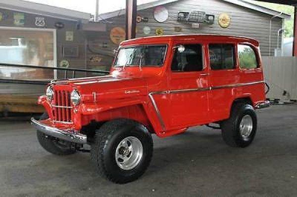 63 Willys Wagon Restomod Willys Wagon Willys Willys Jeep
