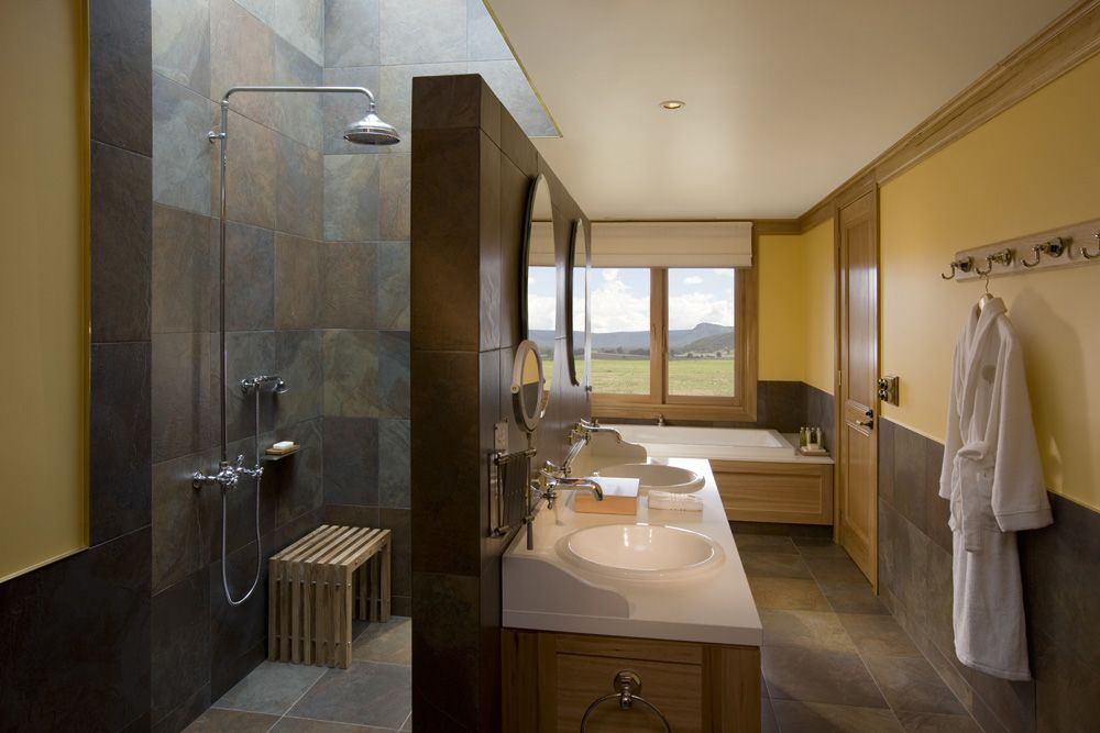 Bathroom Inspiration   Open Shower