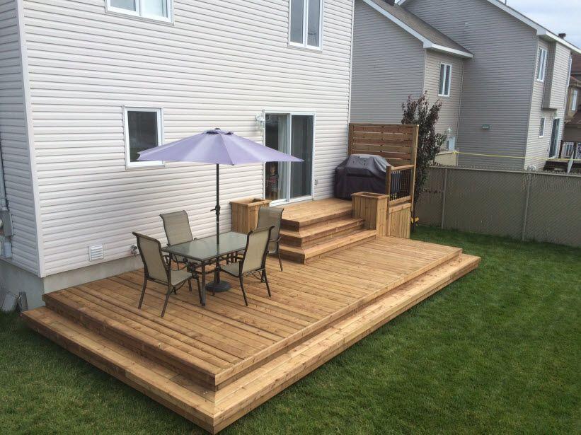 Résultats de recherche du0027images pour « patio bois traité » Patio - toiture terrasse bois accessible
