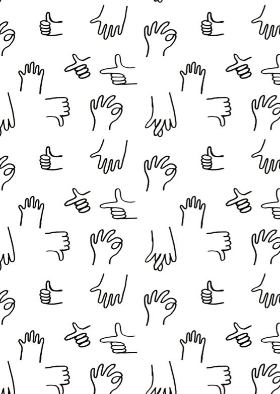 pattern | hands illustrations