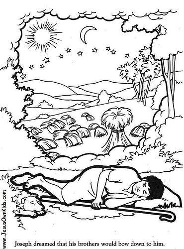1v Genesis Josephs Dream Www Jesusownkids Com Children S Bible