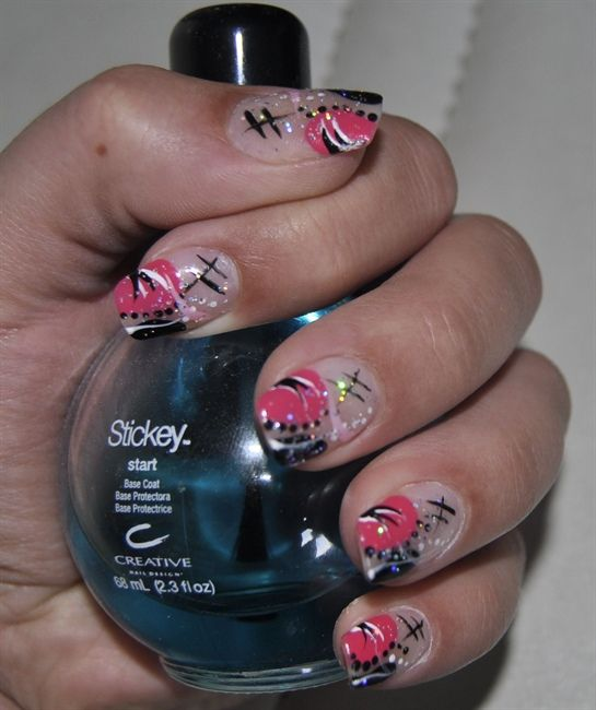 Image Detail For Hand Painted Nail Art Designs Nail Art By Kit