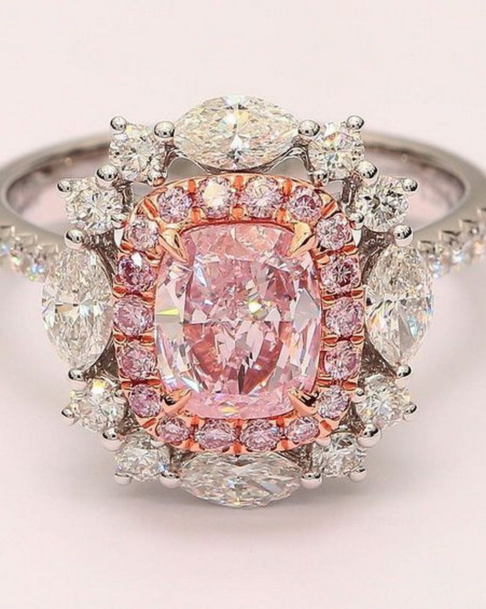 Creativity and combining different diamond shapes lead to designing ...