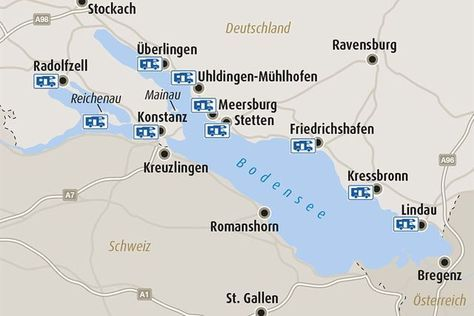 Stellplatz Tipps Am Bodensee Camping Frankreich Urlaub Im