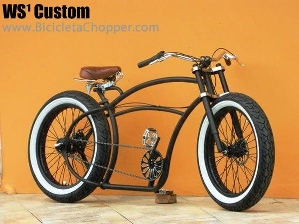bicicleta chopper 1   bike-project   Pinterest   Bicycling ...
