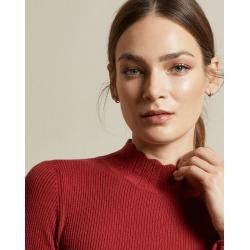 Photo of Gerippter Pullover Mit Wellenkantendetail Ted BakerTed Baker