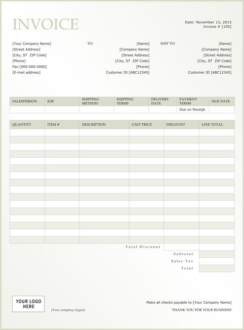 Rent Invoice Template  TemplatesForms    Receipt Template