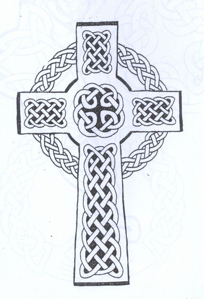 Celtic Cross Tattoo Tattoos And Tattoo Ideas Pinterest