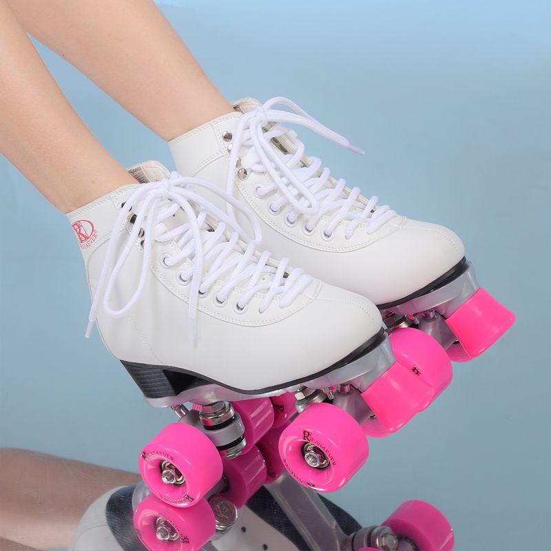 roller skates 4 wheels in a row