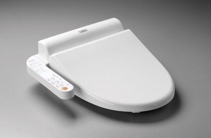 Japanese Toilet Seat With Bidet And Heated Seat Bidet