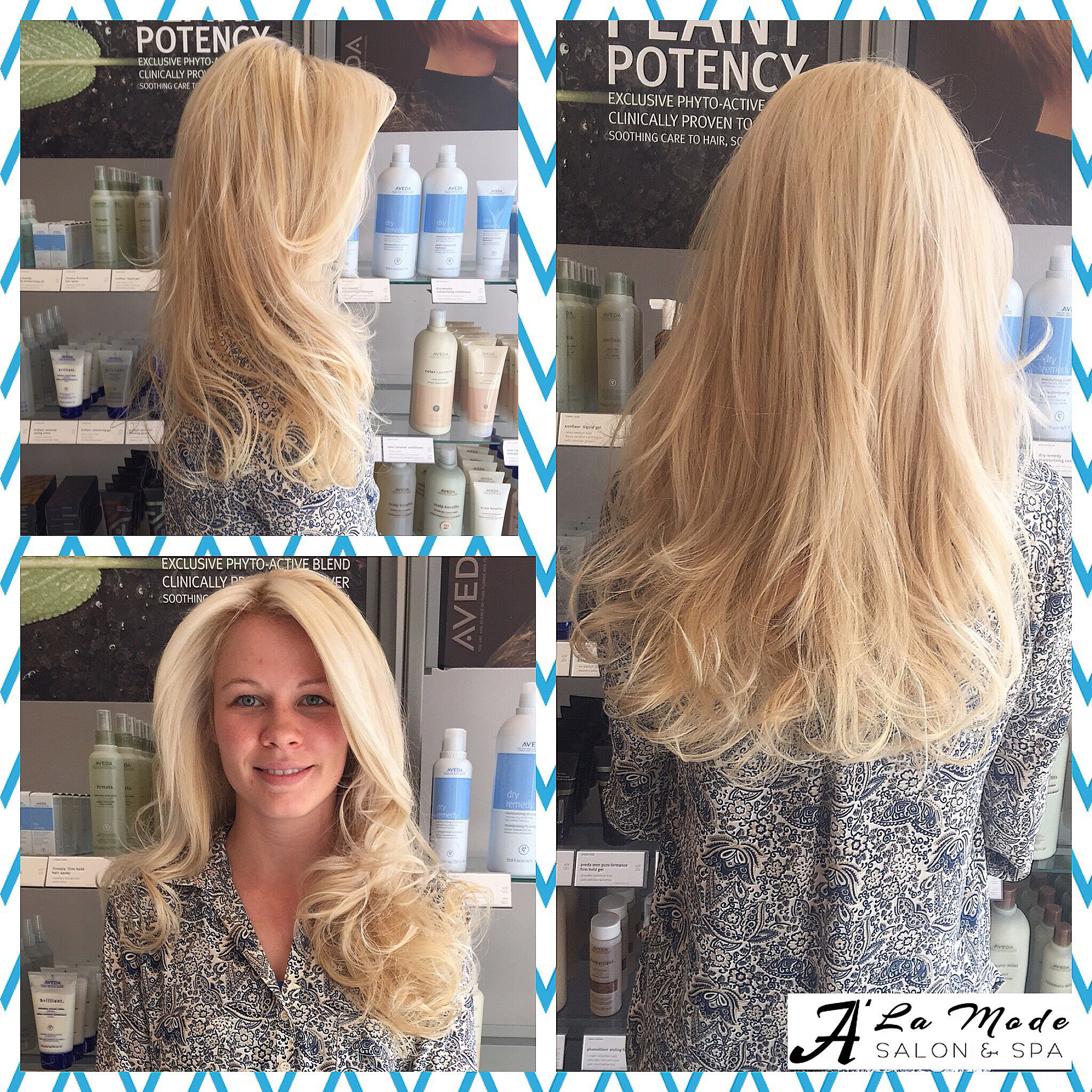 Its finally time to go light again! Change it up with this beautiful baby-blonde highlights, layers and a wavy blowout. Change never looked so good  #baby #blonde #highlights #babyblonde #blondehighlights #golight #lightcolors #season #newhair #makeoever #newstyle #layers #haircut #blowdry #wavy #blowdry #instahair #instacolor #aveda #loreal #oribe #keratincomplex  #nyc #brooklyn #bayridge #alamodesalonandspa #hairsalon #7184911100