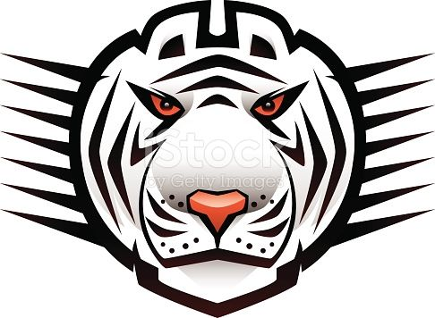 Line Drawing Of A Tiger S Face : Animal head cartoon graphics character drawing face digital