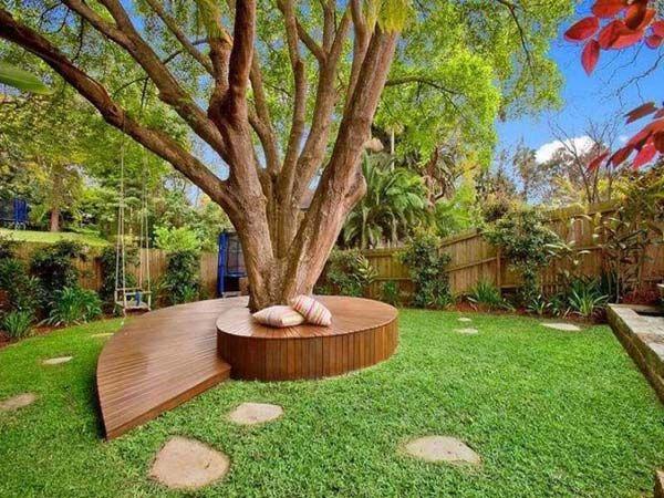 22 Creative And Inspiring Tree Seats Around Trees Hinterhof