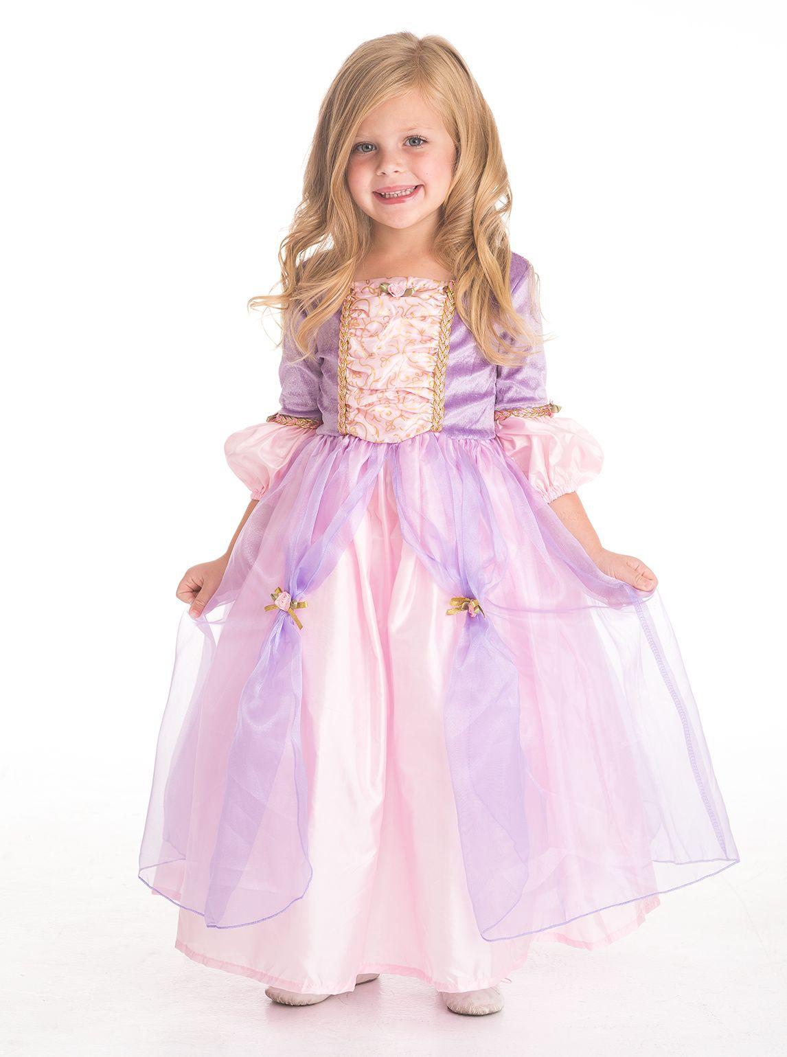 Vestido Princesa Rapunzel Lujo http://www.bebebe.co/vestidos-para ...