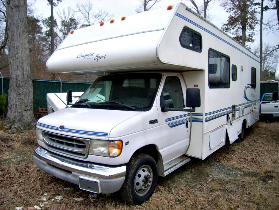 2002 Ford E450 Super Duty Conquest Sport Rv On Govliquidation