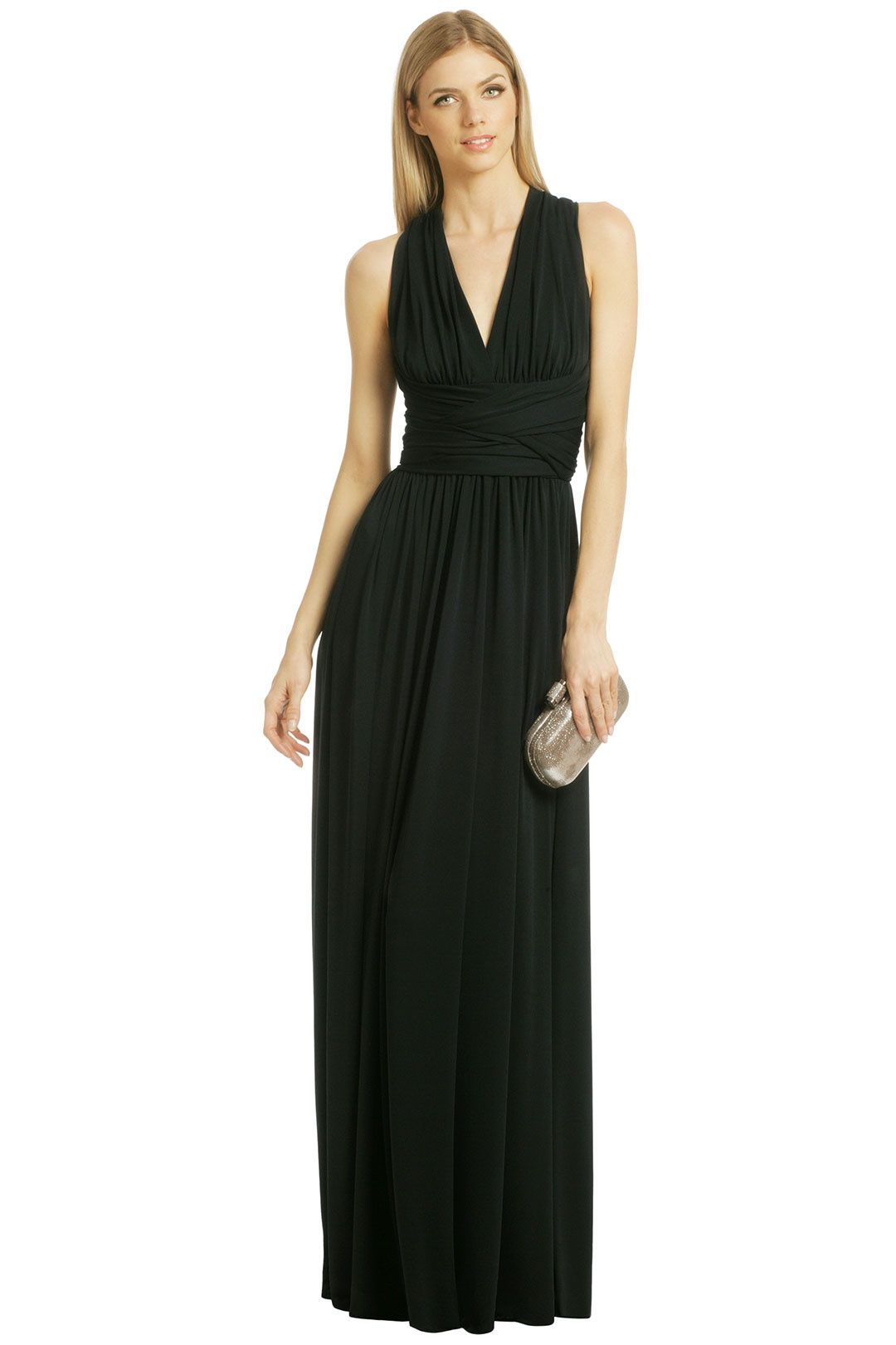 Standing on the edge gown halston heritage gowns and black tie