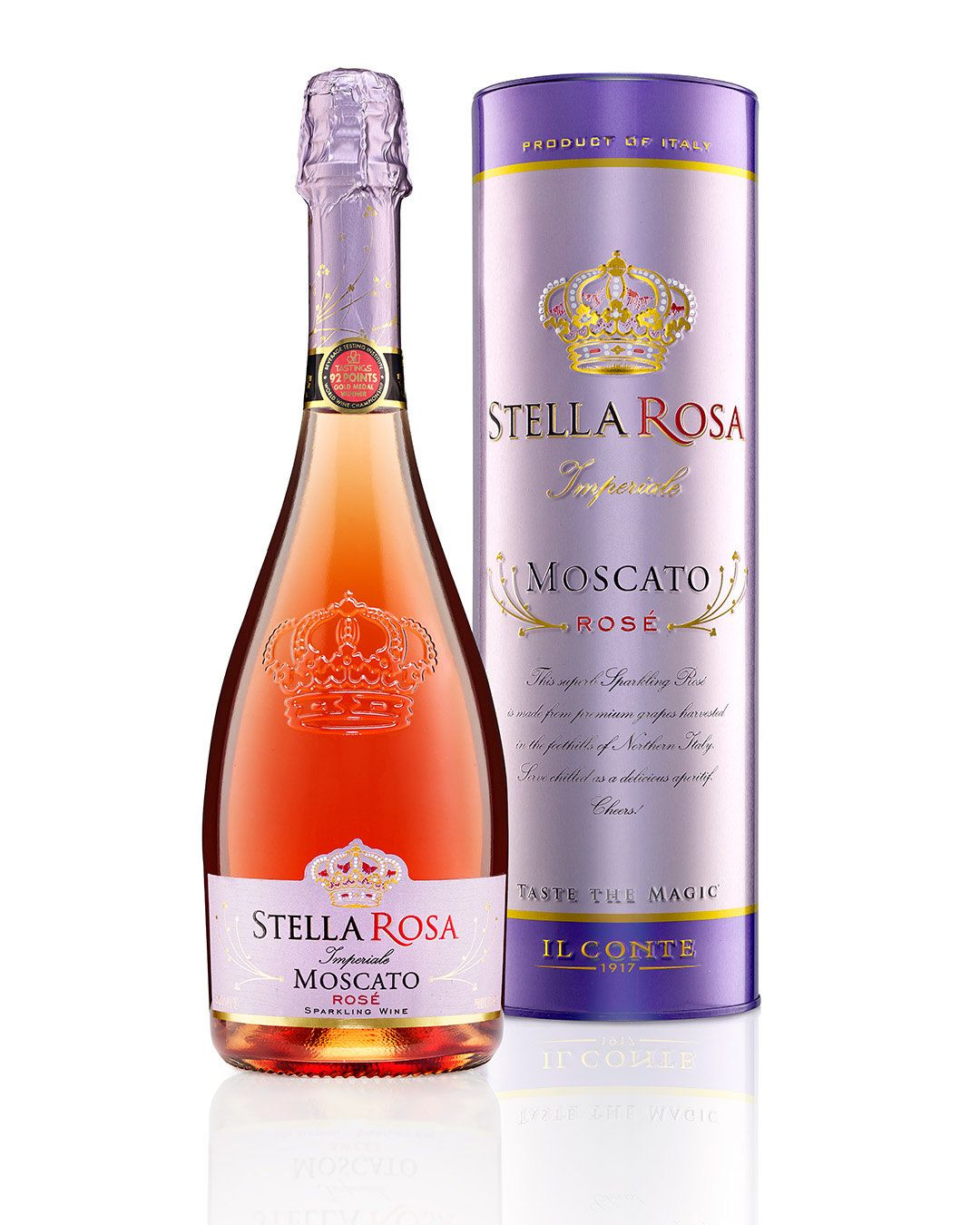 Stella Rosa Moscato Sparkling Wine Packaging Alcohol