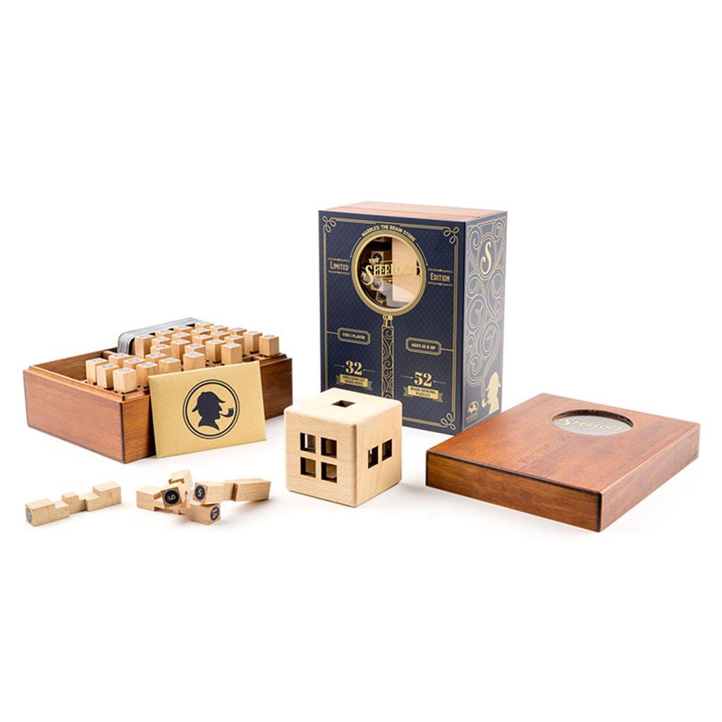 Www Marblesthebrainstore Com Store Marbles Browse Productdetailsinglesku Jsp Productid P21196 Wooden Puzzles Sherlock Fun Gift Bag
