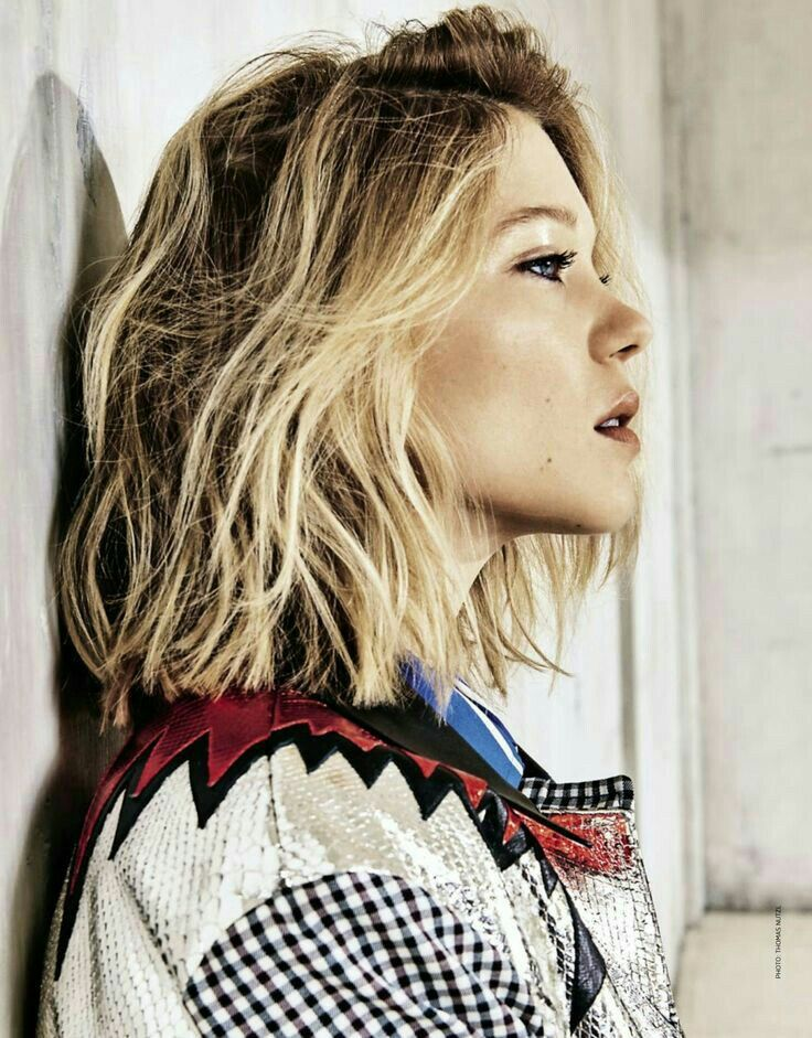 Pin by shaimamalik on lea seydoux which hairstyle suits