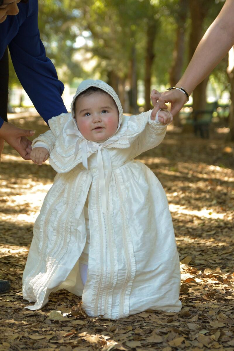 Heirloom Baby Boy Christening Gown, Hand Made baptism outfit for boy ...