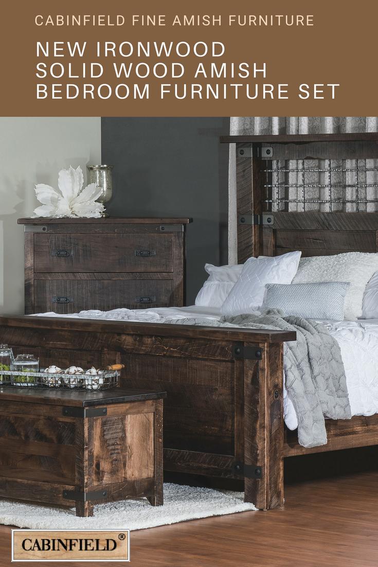 Ironwood amish bedroom furniture set room ideas pinterest
