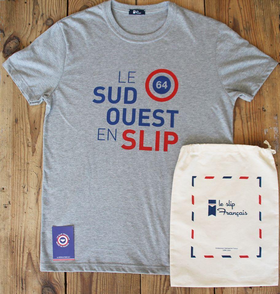 64 En Pour La Shirt Limitée Marque T Créé Le Slip Édition Français thCsQrxd