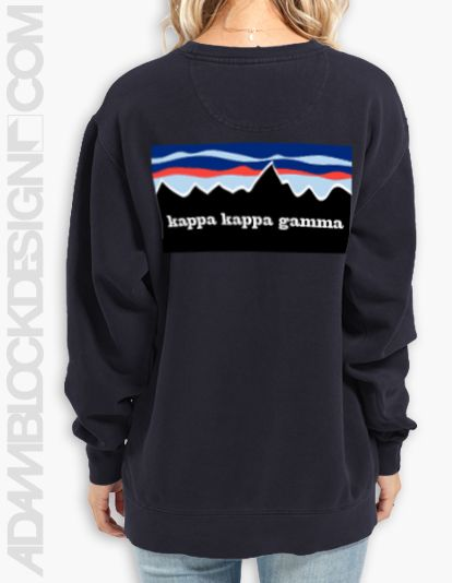 Kappa Kappa Gamma Seal Crewneck KjWTe5