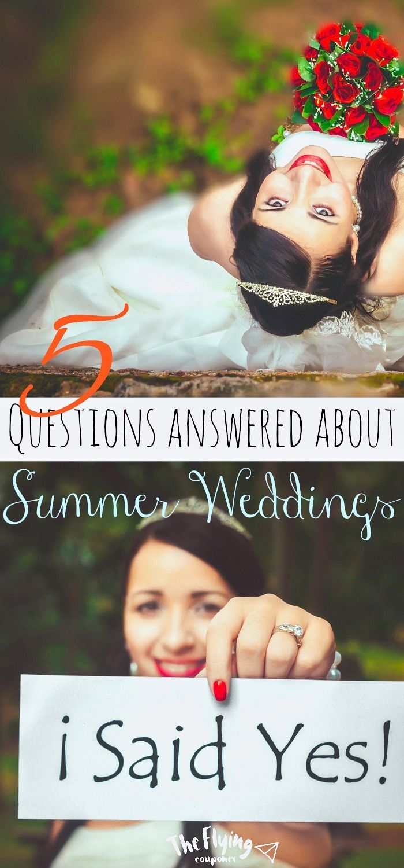 DIY zomer bruiloft ideeën. 5 vragen beantwoord over Summer Weddings. Binnen, ou …