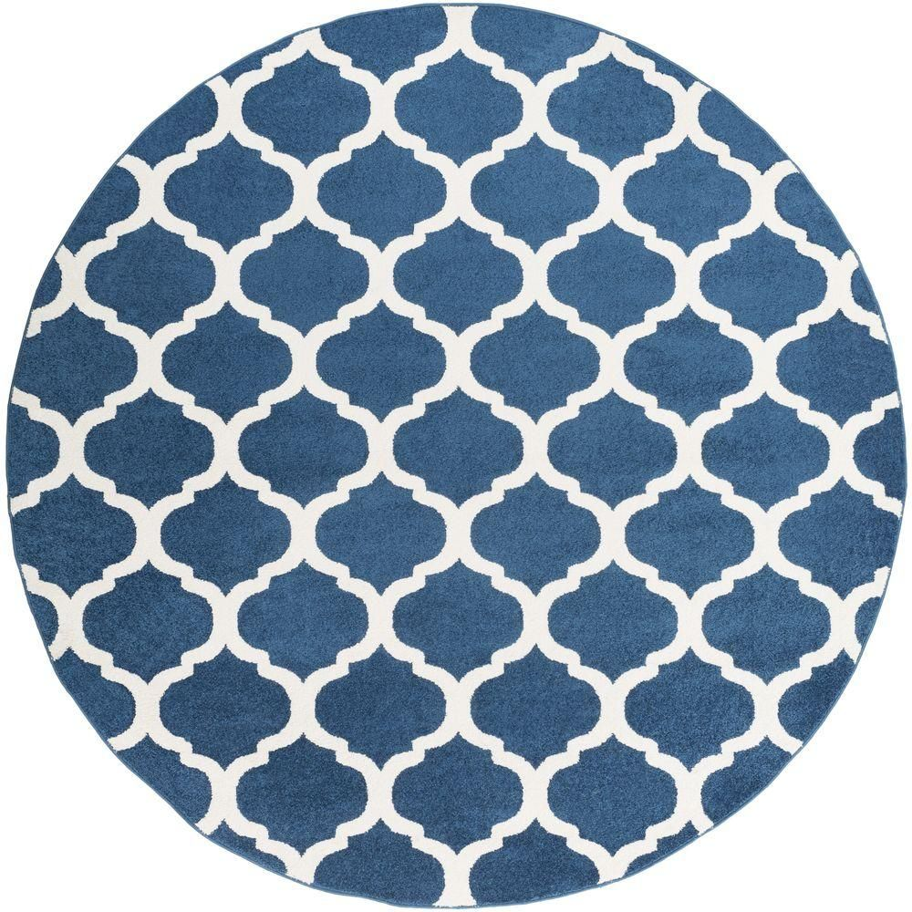 Artistic Weavers Graz Fog Gray 2 Ft X 3 Ft Indoor Area Rug Round Area Rugs Area Rugs Rugs
