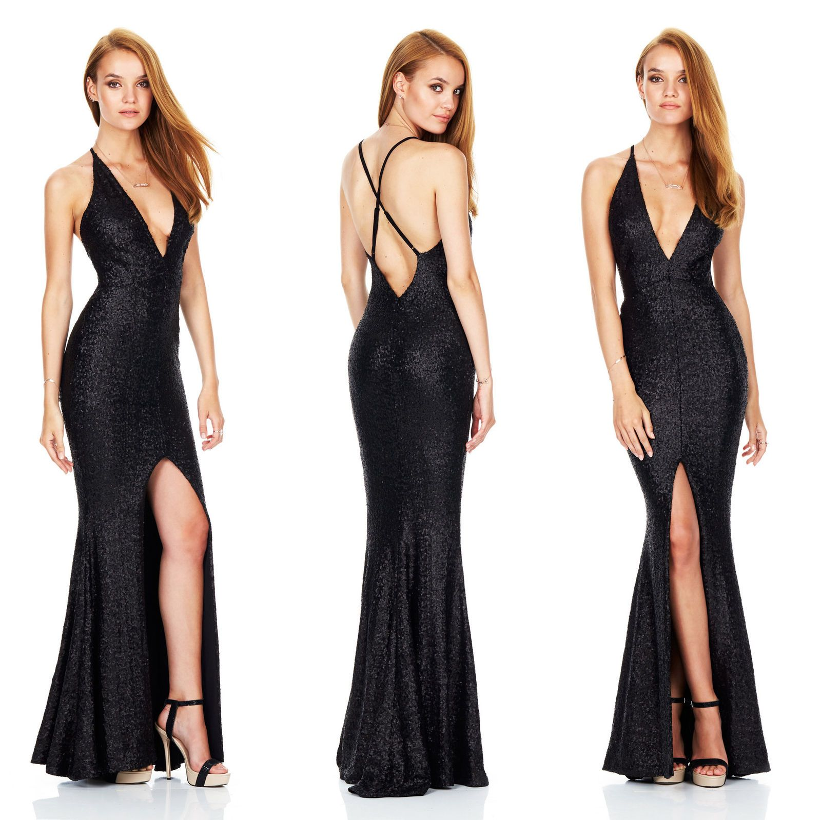 Cool amazing sexy women sleeveless bandage bodycon formal evening