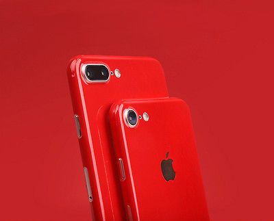 Jet Red Effect Body Skin Sticker Wrap Decal Product For IPhone 7 6