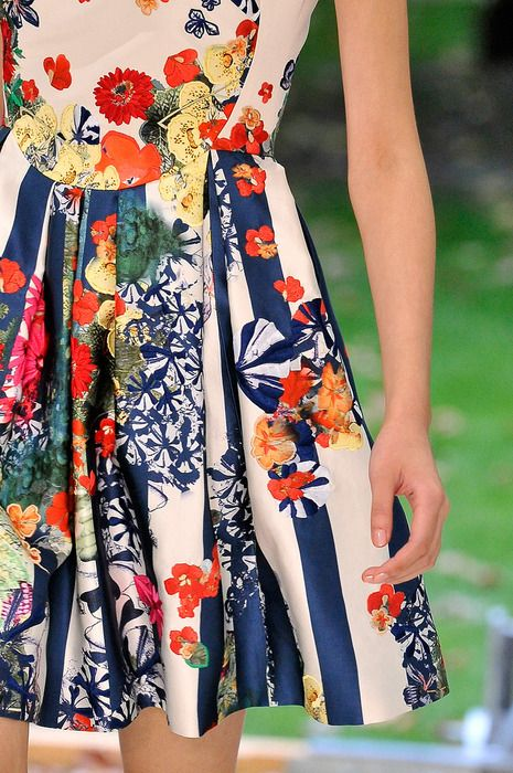The stylist FiFi says you shouldn't wear florals over 30. That makes me so sad.